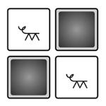 Kuva blissmuistipelistä