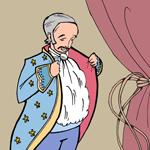 Piirroskuva keisarista