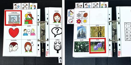 näkymä avainsanoilla ilmaisusta kommunikointikansiossa, avainsanat matkustaa, kesä