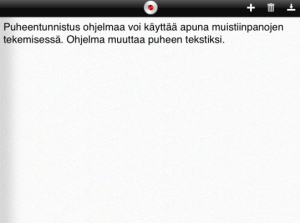 Text producerat med taligenkänningsprogram.