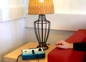 Direktstartningsapparat och lampa.